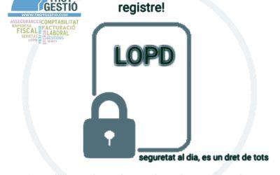 LLEI DE PROTECCIO DE DADES
